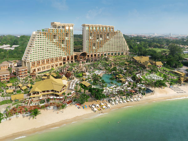 Centara Grand Mirage Beach Resort 4 отели таиланда